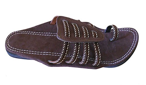 Creations Marron pour homme Chaussons Kalra BxvawqdfB
