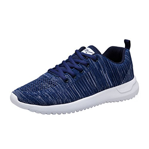 ng Shoes Fashion Breathable Sneakers Mesh Soft Sole Casual Athletic Lightweight ()