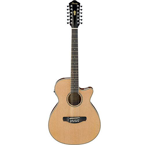 Ibanez AEG1812II 12 String Acoustic-Electric Guitar – Natural