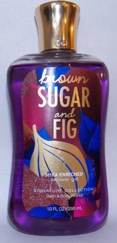 Bath and Body Works Brown Sugar and Fig Shea Enriched 10 oz Shower (Body Wash Brown Sugar)