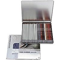 Van Gogh Sketch Eskiz Kalem 24 Derece / Renk Seti
