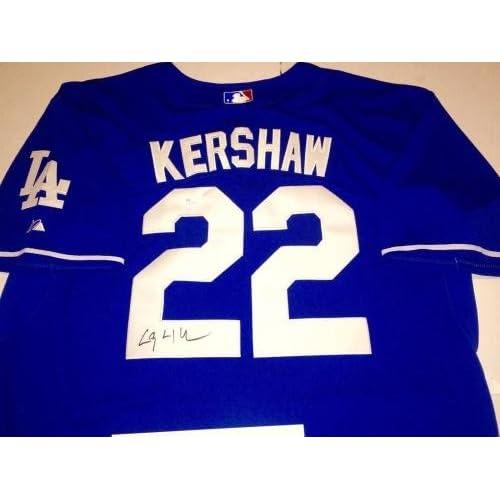 Clayton Kershaw Autographed Jersey - LOA - JSA Certified - Autographed MLB  Jerseys new 1add771e7fc