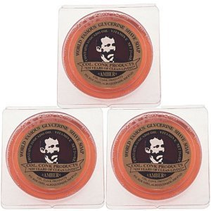 Col. Conk Amber Shave Soap 2.25 Ounce (Pack of - Shave Soap Conk