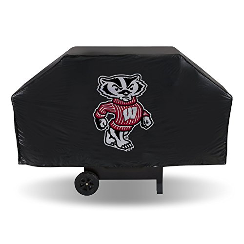 NCAA Wisconsin Badgers Vinyl Grill Cover