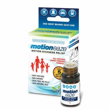 Motion Eaze All-Natural Sea Sickness Relief 2-PACK