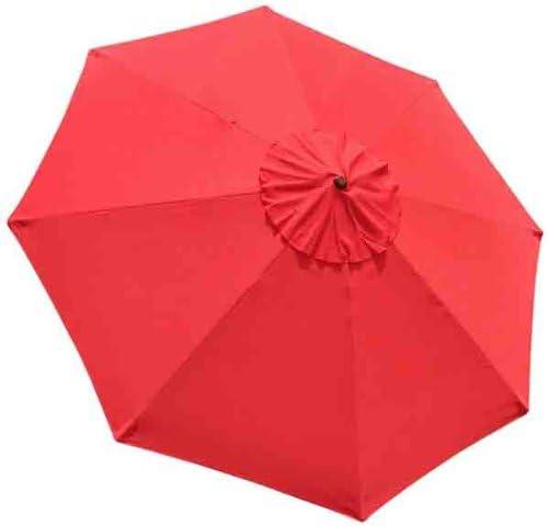 MegaBrand 9' Red Patio Umbrella Replacement Canopy