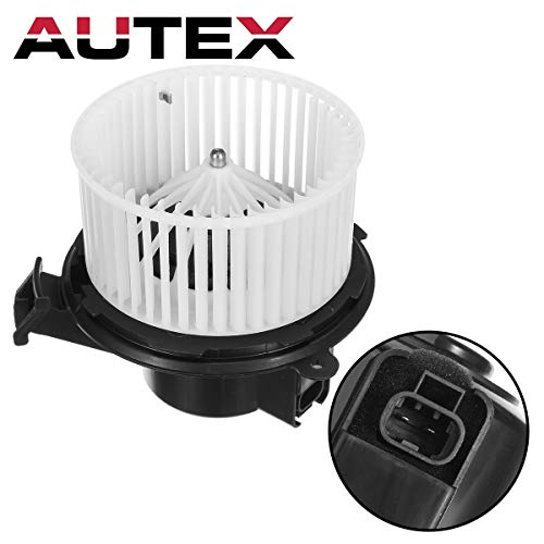 Gmc Blower - AUTEX HVAC Blower Motor Assembly Compatible with Buick Enclave,Chevy Traverse 08-12 Replacement for Gmc Acadia,Saturn Outlook,GMC Sierra,Chevrolet Silverado 1500 07-12 Blower Motor 700236 22810567