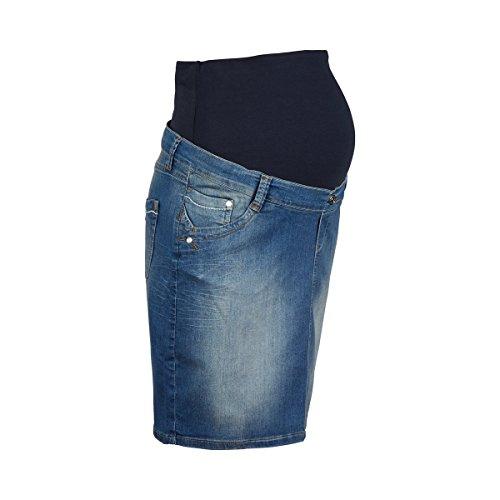 pantalones los falda azul embarazo 2hearts de vaqueros del qwRaIqxZC