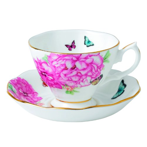 Royal Albert Friendship Teacup and Saucer Set Designed by Miranda (Friendship Cup)