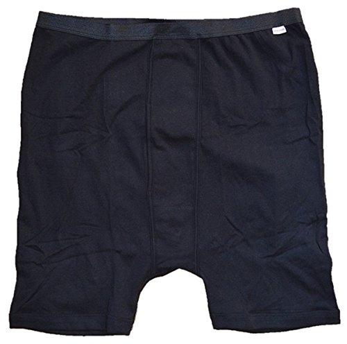 Honeymoon Boxerpant schwarz im Doppelpack 6XL
