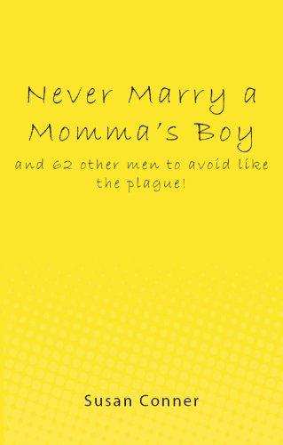 Never Marry Mommas Boy plague ebook product image