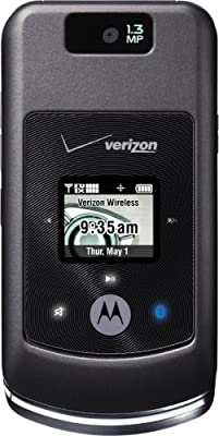 Motorola w755 Phone, Black (Verizon Wireless, Phone Only, No Service)