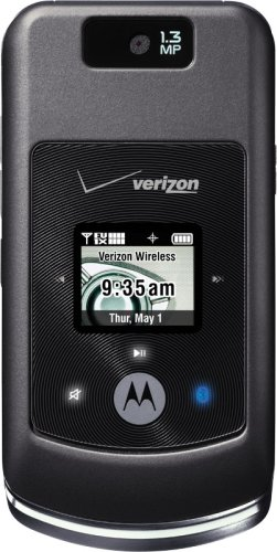 Motorola w755 Phone, Black (Verizon Wireless)