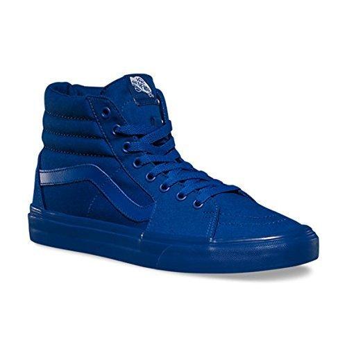 7d188d104cc9d8 Galleon - Vans Sk8 Hi Mono Canvas True Blue Mens Fashion Skateboarding Shoe  (9)