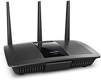 Renewed Linksys Max Stream AC1750 MU-MIMO Dual-Band Smart WiFi Router