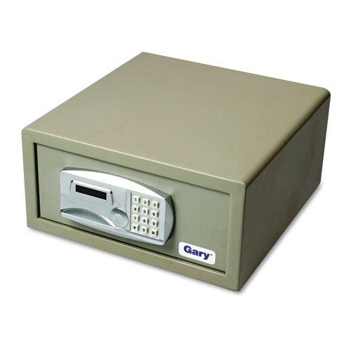 Gary LT1507 - Laptop Safe, 1.2 capacity, 15-3/4w x 16-5/8d x 7-9/16h, Light Gray