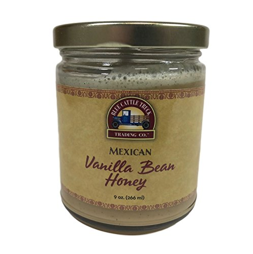 Blue Cattle Trucking Co. Mexican Vanilla Bean Honey, 9 Ounce by Blue Cattle Truck Trading Co.