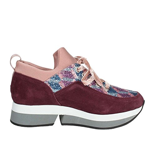 Fornarina PI18SL1080VV67 Low Sneakers Women Burgundy iQsz4