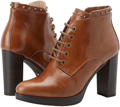leather Classiques Bottes Nero Beige Cuoio 400 Giardini Femme Manolete nq0ItIgAw4
