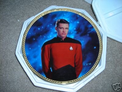 Star Trek The Next Generation Wes Wesley Crusher Collectible -