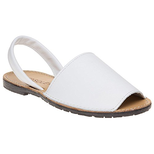 Sole Blanc Toucan Blanc Sandales Femme Sq4rSU