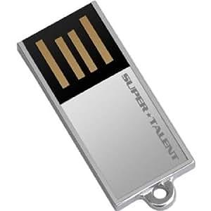 Super Talent Pico-C 8 GB USB 2.0 Flash Drive STU8GPCS (Silver)