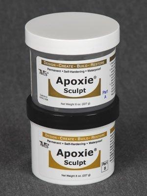 Apoxie Sculpt 1 lb. Pink, 2 part modeling compound (A & B)