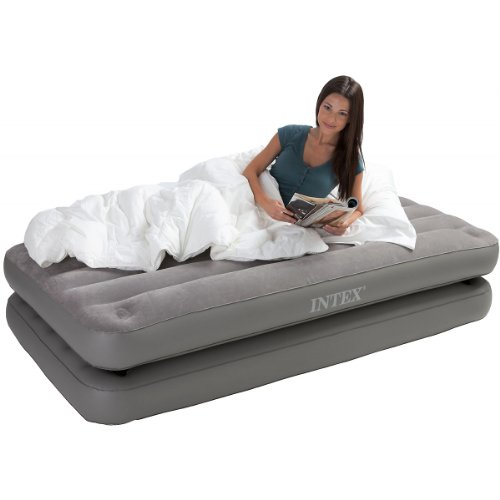 Intex 2-in-1 Twin Airbed, Outdoor Stuffs
