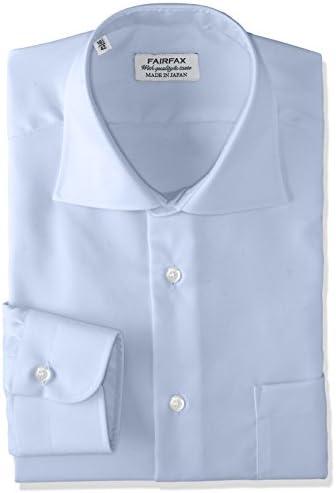 形態安定加工ツイルワイドカラーシャツ 8201 メンズ