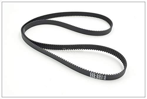 Width: 6mm, Length: Perimeter 520mm Ochoos 494 500 520 524 528 2GT Timing Belt W=3//6//9mm T=247//250//260//262//264 GT2 Closed-Loop Synchronous Belt 3D Printer 528-2GT