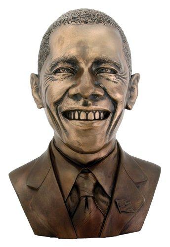 American President Obama Bust Inspirational Leader Statue Figurine Art (Sculpture Art Bust)