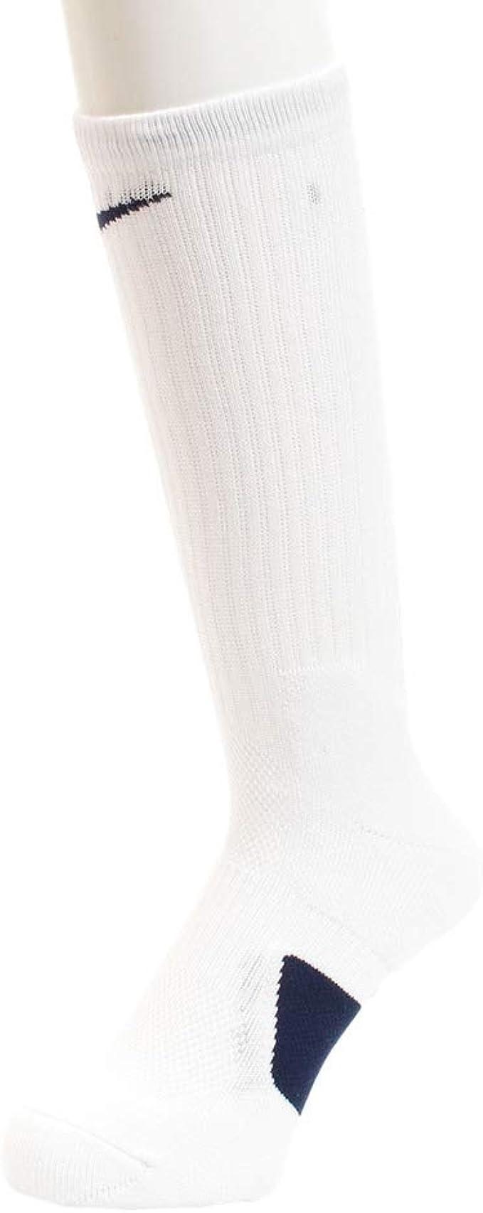 Amazon.com: Nike Elite Basketball Crew Socks Large (Fits Men ...