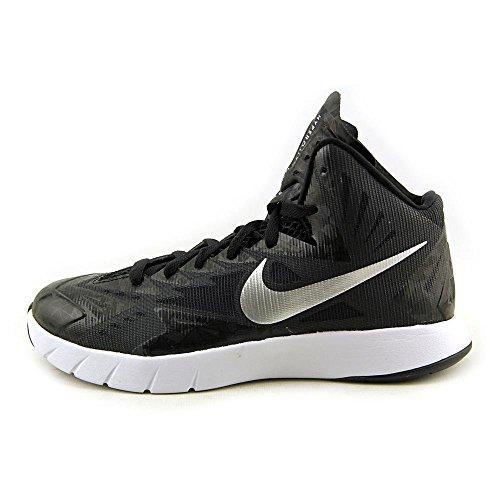 Black Metallic Men's Hyperquickness TB White Silver Basketball Shoes Nike fw4OqXSxf