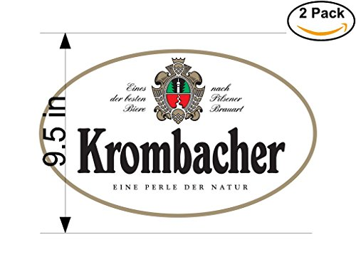 krombacher-beer-logo-alcohol-4-vinyl-stickers-decal-bumper-window-bar-wall-95-inches