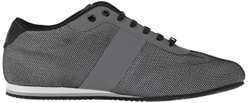Boss Mesh Grey Lighter Medium Men's Hugo Sneaker Low dagAxnq