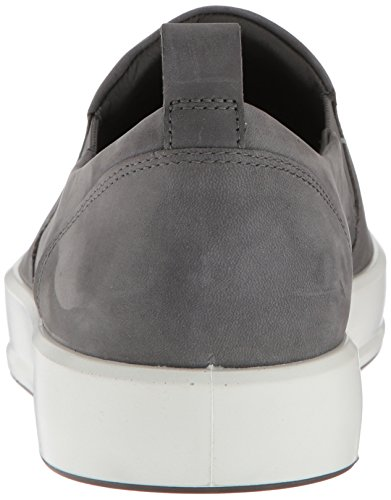Shadow Grau Low Ecco Men's Sneaker Top Dark Herren Soft 8 Oqwx1FPg