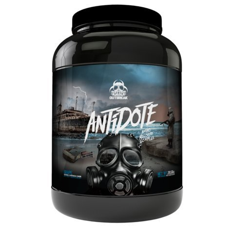 Antidote Amino Recovery Complex – BCAA Branched-Chain Powder Increased Muscular Protein Uptake Rapid Glycogen Muscle Replenishment ActiGin VO2, lower inflammation, Strawberry Margarita, 839g, 60sv For Sale