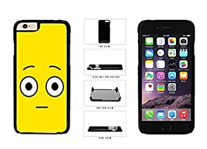 Bright Yellow Shocked Smiley Face Plastic Phone Case Back Iphone 5/5S