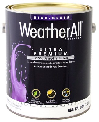 True Value GHPP-GL WeatherAll-Gallon Gloss Pastel Base by True Value