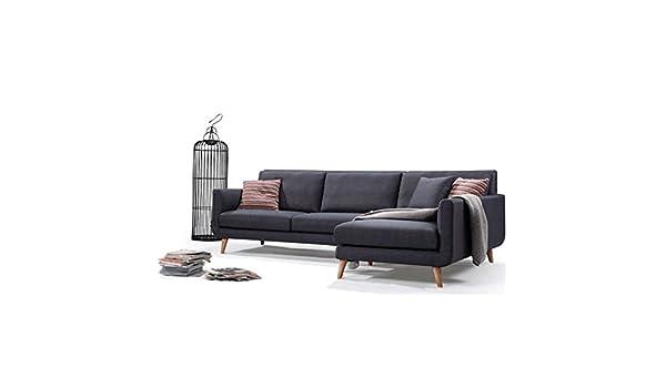 Amazon.com: Modern Mid-Century L-Shaped Sectional Sofa ...