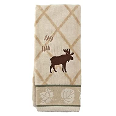 Silhouette Lodge  Bathroom Shower Collection - Set of 3 Fingertip Towels