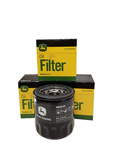 1545 Oil - John Deere Original Equipment Oil Filter #M806419 (Qty 4)