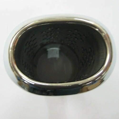 universale cromato Boloromo 412 A Terminale di scarico in acciaio inox