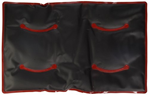 WENKO 71169500 Moor-Kissen - Wärmekissen, Kunststoff, 48 x 2 x 30 cm, Rot