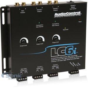 AudioControl LC6i Black AUDIO CONTROL by AudioControl