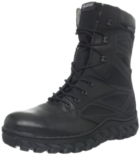 Bates Mens Annabon Waterproof Work Boot Black 9DzoprA