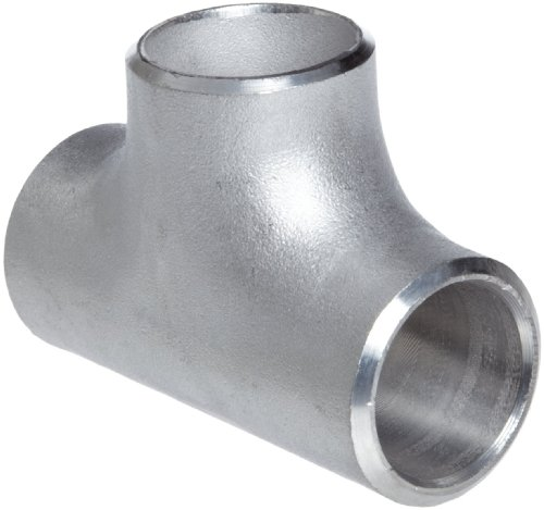 Stainless Steel 304/304L Pipe Fitting, Tee, Butt-Weld, Schedule 10, 1