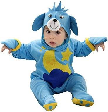 Disfraz de Osito Luna azul para bebé de 6 a 12 meses: Amazon.es ...