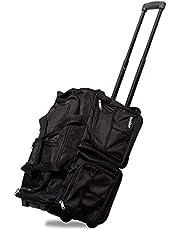Dejuno Bolsa de viaje con ruedas de 50,8 cm, color negro