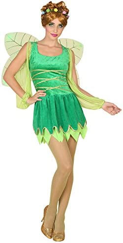 Atosa-39337 Disfraz Hada, Color Verde, M-L (39337)